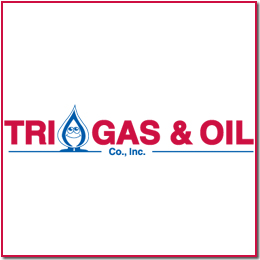 Tri Gas & oil bus logo